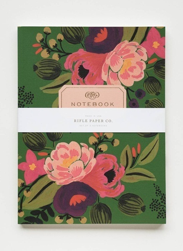 Rifle Paper Co. Vintage Blossoms 2'li Defter Renkli